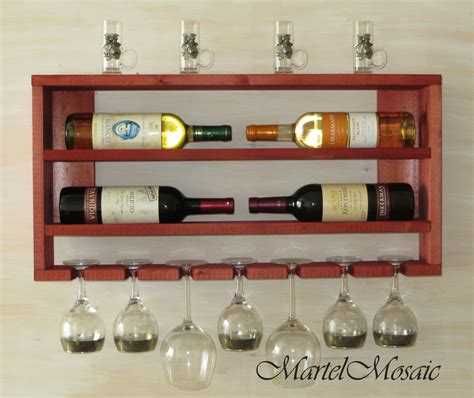 wooden wine rack kitchen shelf rustic wine rack rustic