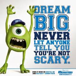 cute monsters university quotes quotesgram