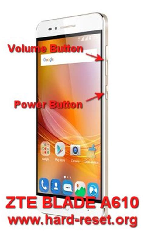zte blade apex hard reset how to factory reset how to easily master format zte blade a610 with safety