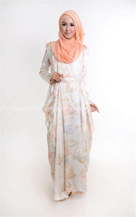 Gamis Santai 30 contoh baju gamis muslim untuk santai trend terbaru