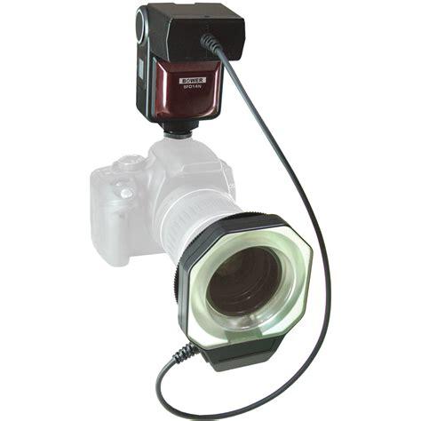 ring light for digital camera bower sfd14s sony ringlight flash sfd14s b h photo video