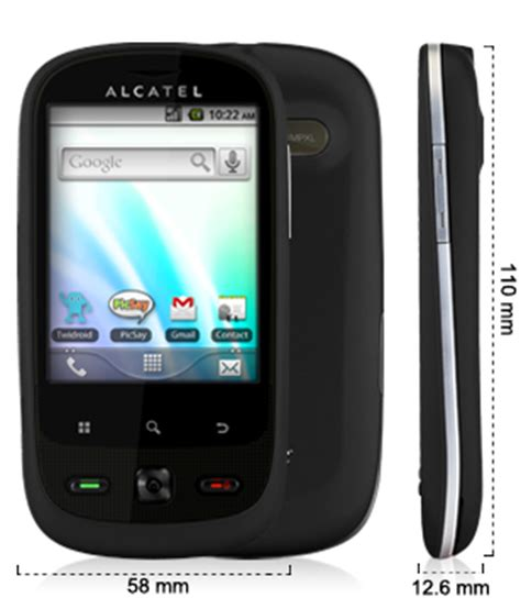 Hp Android Alcatel One Touch 890d manuale d uso alcatel one touch 890d in pdf tuttoxandroid