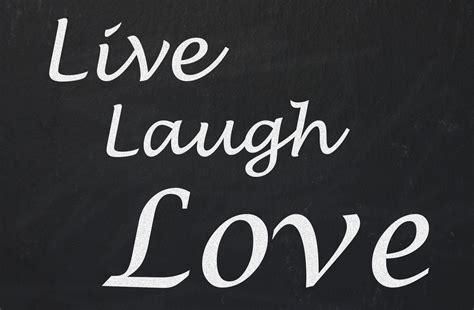 live laugh love live laugh love chalkboard free stock photo public