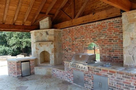 outdoor kitchens in houston the woodlands outdoor kitchen with cedar patio cover