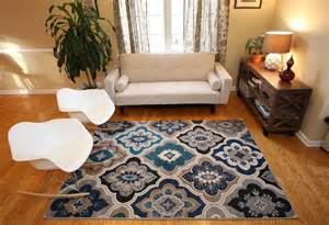 Large Area Rugs For Living Room Rugs Area Rug Carpet Floor Modern Large Blue Living Room Beige Contemporary New Ebay