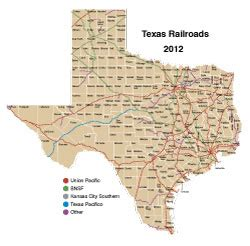 map of texas railroads current railroad maps texas pictures to pin on pinsdaddy