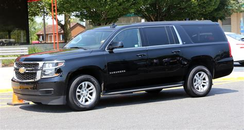 Maxtron C15 Army Limited Edition Spesial Edition file 2015 chevrolet suburban lt in black front left side view jpg wikimedia commons