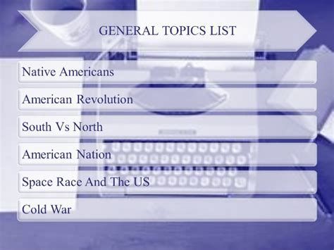 topics for us history research paper list of easy us history research paper topics