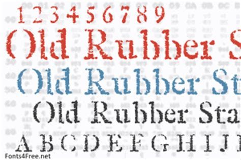 Rubber St Font Fonts4free