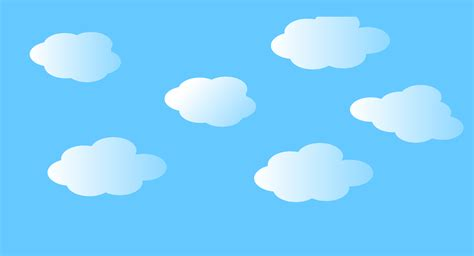 simple pic clipart simple clouds
