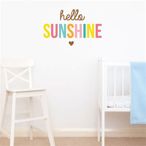 hello wall stickers hello wall sticker quote wall sticker quotes