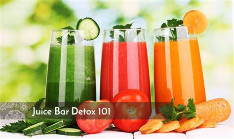 Green And Yellow Juice Bar Detox by Juice Bar Detox 101