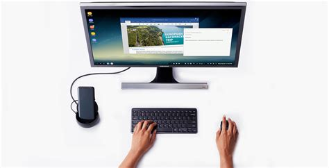 samsung pc mobile samsung introduces dex mobile to pc dock