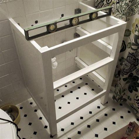 ikea kitchen sink installation bathroom renovation how to install an ikea hemnes sink