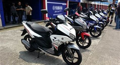 yamaha aerox lc125 is launched in indonesia bikewale news