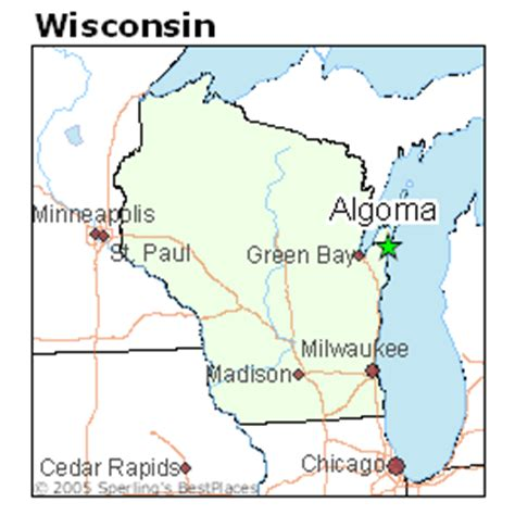 best places to live in algoma, wisconsin