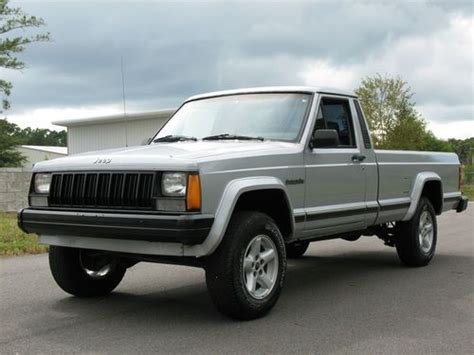 4 Door Jeep Comanche Purchase Used 1990 Jeep Comanche Pioneer Standard Cab