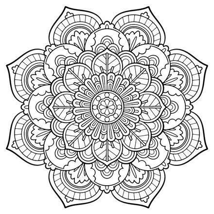 mandala coloring pages free printable 25 best ideas about mandala printable on