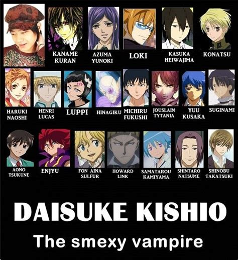 anime voice actors voice actor daisuke kishio anime voice actors