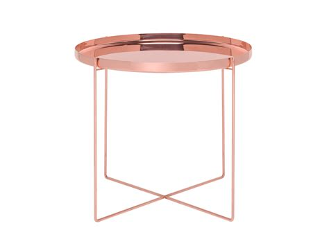 Copper Tables by Buy The E15 Cm05 Habibi Side Table Copper At Nest Co Uk
