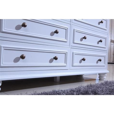 Beata Chest Of 6 Drawers W Change Table Top White Buy Chest Of Drawers Change Table