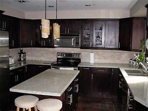 espresso cabinets grey brown granite countertops love espresso cabinets grey brown granite countertops love