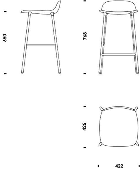 Stool Cad Block by Lounge Chair Cad Studio Design Gallery Best Design