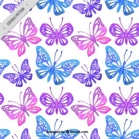 imagenes mariposas para descargar gratis patr 243 n de mariposas decorativas de acuarela descargar