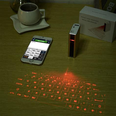 Laser Keyboard With 5200 Mah Power Bank bluetooth laser keyboard with 5200mah power bank