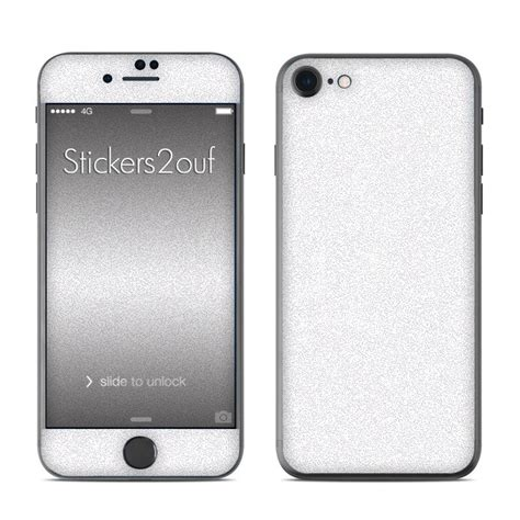 Skin Glitter Iphone 7 skin glitter blanc iphone 7 apple
