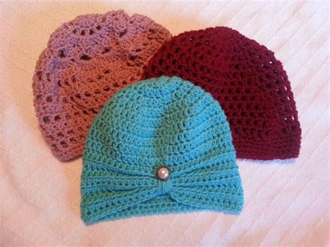 knots of love cancer caps knots of love crochet chemo cap patterns