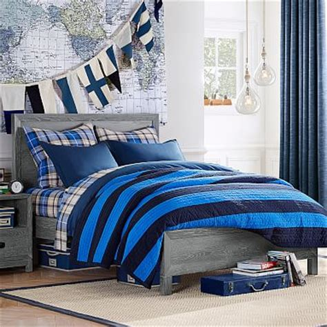 boys full bed rowan classic bed pbteen