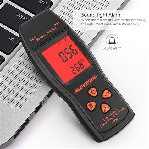 mini digital emf meter handheld radiation dosimeter mini digital lcd