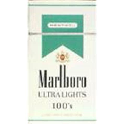 carlton 100 ultra light cigarettes marlboro menthol 100 s cigarettes 1 00 pack albertsons