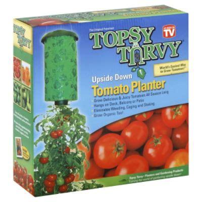 As Seen On Tv Tomato Planter by Topsy Turvy Tomato Planter 1 Planter Lawn
