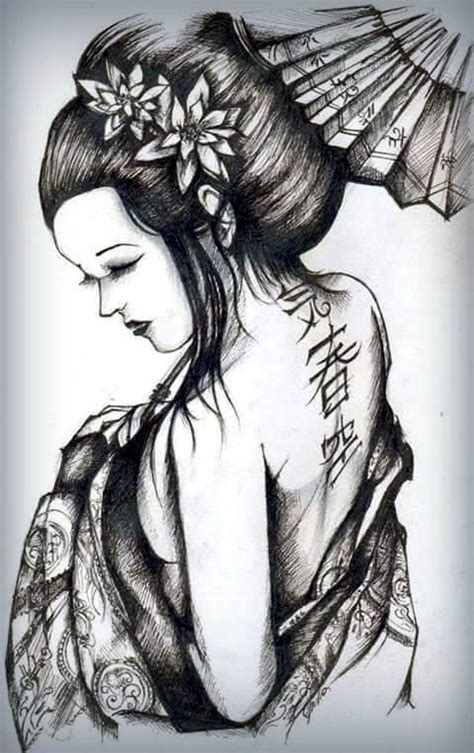 tattoo de una geisha pinterest the world s catalog of ideas