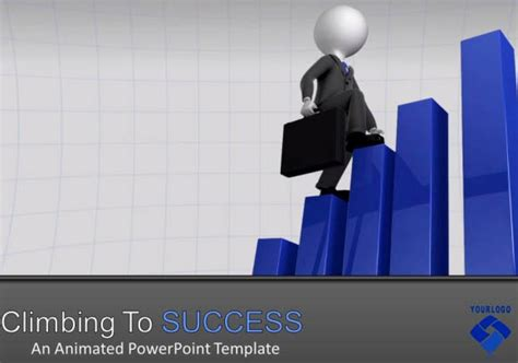 Animation Templates For Powerpoint by Business Presentation Template For Powerpoint With