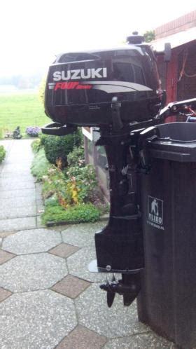 suzuki buitenboordmotor te koop nette suzuki 5pk langstaart buitenboordmotor advertentie