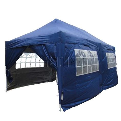 waterproof pop up gazebo 3m x 6m canopy awning folding