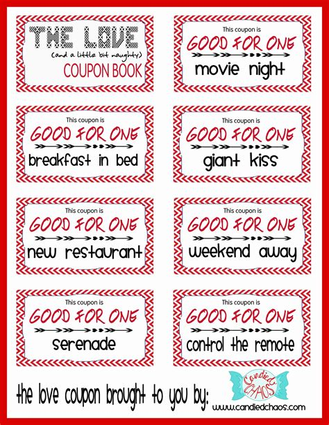 girlfriend coupon book ideas