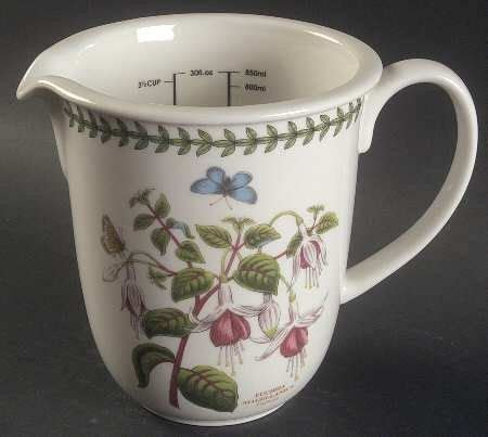 gravy boat david jones portmeirion botanic garden 30 ounce measuring jug fine
