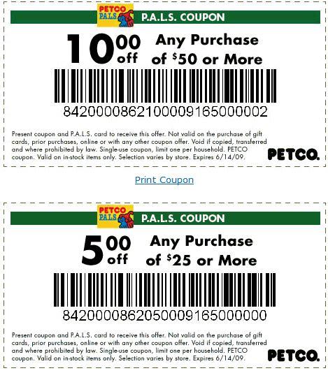 Petco Printable Coupons