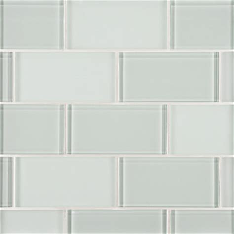 Offset Shower Bath do the clear and white glass tiles always have a tint of