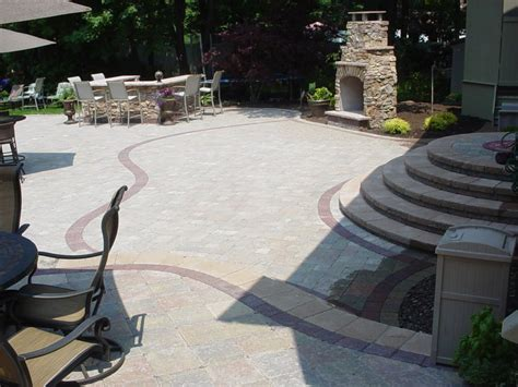 Patio Level by Patios Multi Level Patios Anthony Landscaping