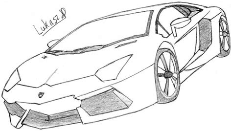 lamborghini sketch easy drawn lamborghini art pencil and in color drawn