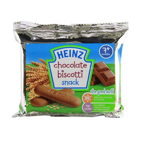 Heinz Chocolate Biscotti 60g jaya grocer heinz biscotti chocolate biscuit fresh
