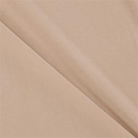 Taupe Farbe by Taupe Knit Jersey Fabric