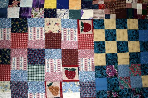 Patchwork Photo Quilt - patchwork quilt texture picture free photograph photos