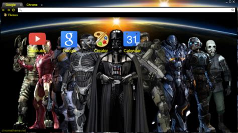 theme google chrome star wars top 10 star wars chrome themes for true fans only brand