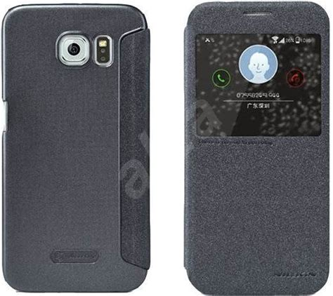 Lc Nilkin Sparkle Samsung A5 nilkin sparkle s view for samsung g920 galaxy s6 black
